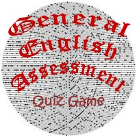 General English Assessment Quiz Game