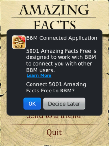 5001 Amazing Facts (BlackBerry)