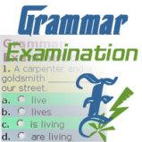 Grammar Examination