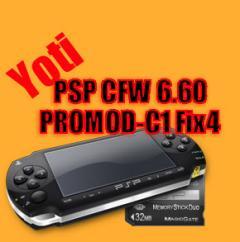 PSP CFW 6.60 PROMOD-C1 Fix4