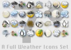 7 Degrees Weather Icons for SecilWeather