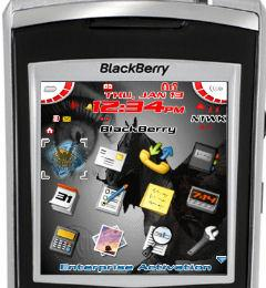 'Dream' BlackBerry 7100 Theme
