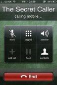 Mobile Secret Caller