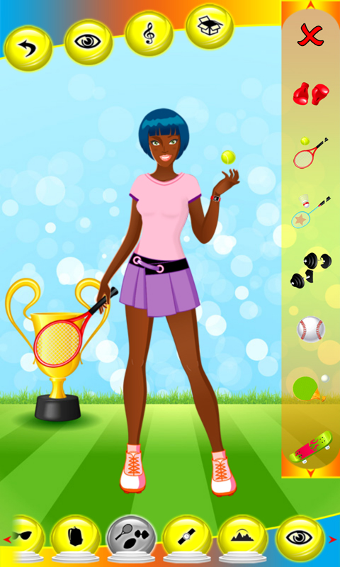 Nude Pink Dress Up Game