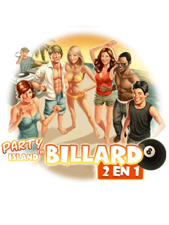Party island: Billiard 2 in 1