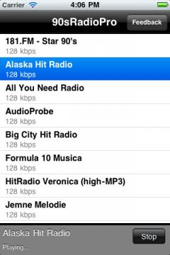 90s Radio Pro for iPhone/iPad