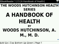 A Handbook of Health for BlackBerry