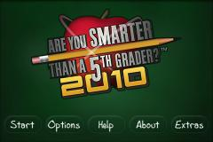 ARE YOU SMARTER THAN A 5TH GRADER? 2010