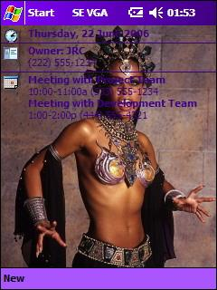 Aaliyah - Queen of the Damned JRC Theme for Pocket PC