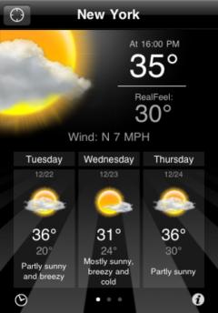 AccuWeather Platinum for iPhone