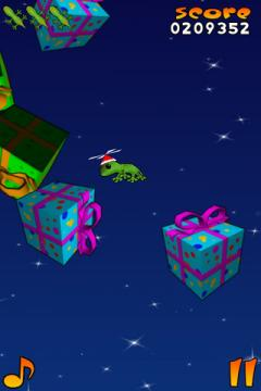 Acrobat Gecko Christmas for iPhone/iPad