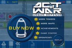 Act Of War: Urban Defense Lite