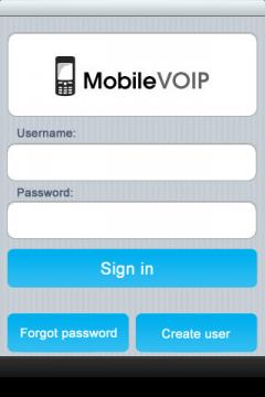 ActionVoip for iPhone