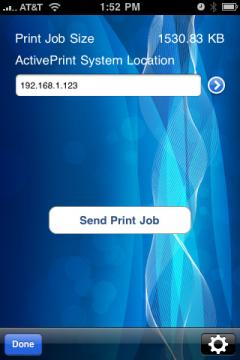 ActivePrint Pro (iPhone/iPad)