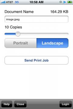 ActivePrint Traveler (iPhone)