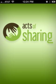 Acts Of Sharing