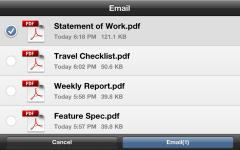 Adobe CreatePDF for iPhone/iPad