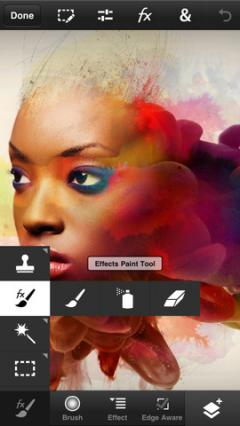 Adobe Photoshop Touch for iPhone