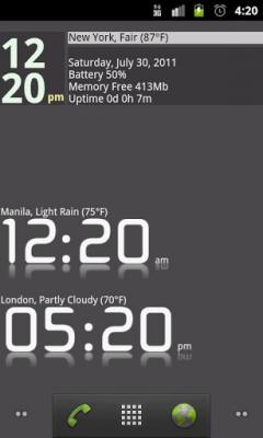 Advanced Clock Widget Pro