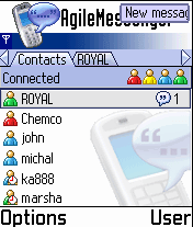 Agile Messenger (Siemens SX1)