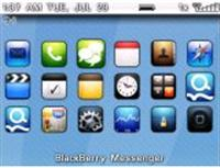 Aguaberry Theme for BlackBerry 8800