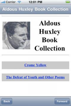 Aldous Huxley Book Collection