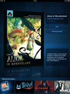 Alice in Wonderland - the Graphic Novel for iPad
