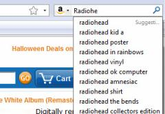 Amazon Search Suggestions - Firefox Addon