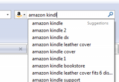 Amazon Search Suggestions for France - Firefox Addon