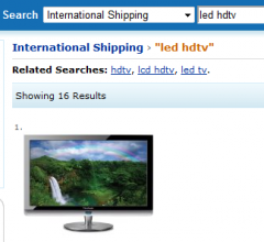 Amazon.com International Shipping Search - Firefox Addon