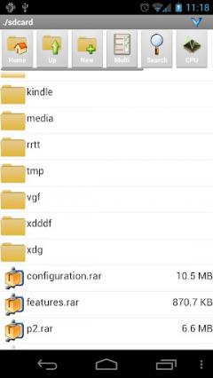 AndroZip Root File Manager