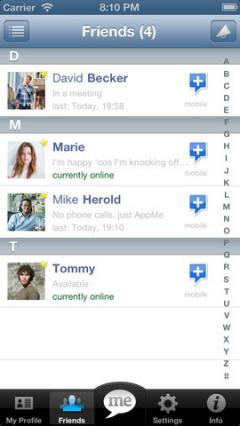 AppMe Chat Messenger for iPhone/iPad