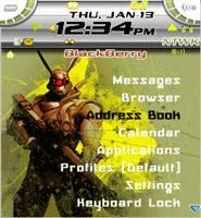 Appleseed 2 Theme for Blackberry 7100