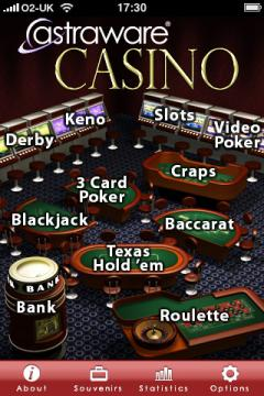 Astraware Casino (iPhone/iPad)