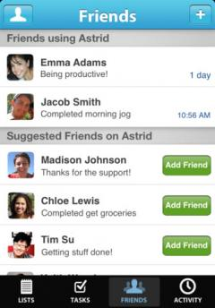 Astrid for iPhone/iPad