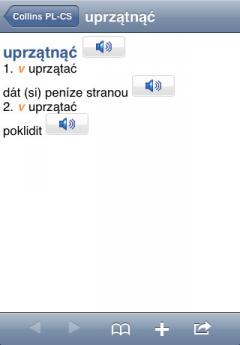 Audio Collins Mini Gem Polish-Czech & Czech-Polish Dictionary (iPhone/iPad)