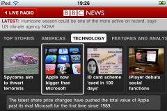 BBC News for iPhone/iPad