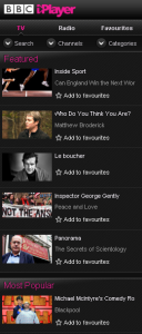 BBC iPlayer for BlackBerry