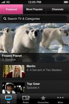 BBC iPlayer for iPhone/iPad