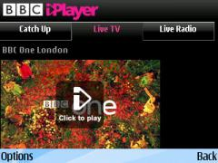 BBC iPlayer for Symbian