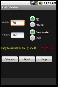 BMI Calculator (Android)