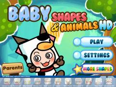 Baby Shapes & Animals HD