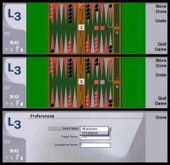 Backgammon for Nokia 9500/9300