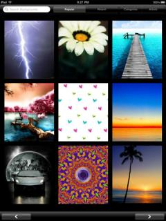 Backgrounds HD for iPad