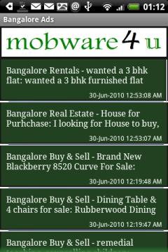 Bangalore Ads