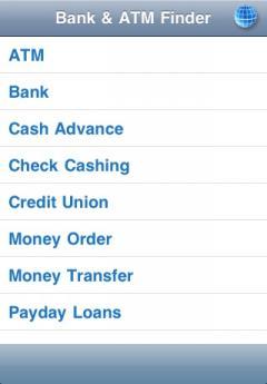 Bank & ATM Finder