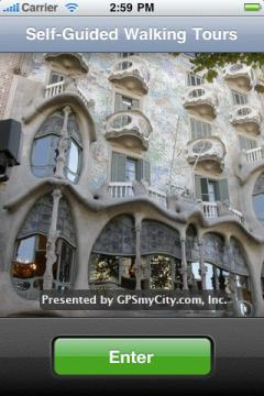 Barcelona Map and Walking Tours