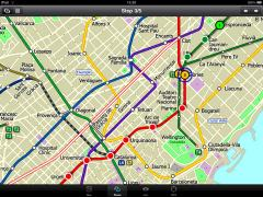 Barcelona Metro for iPad by Zuti