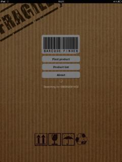 Barcode Finder (iPad)