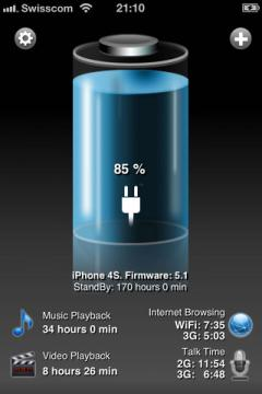 Battery HD+ Pro for iPhone/iPad